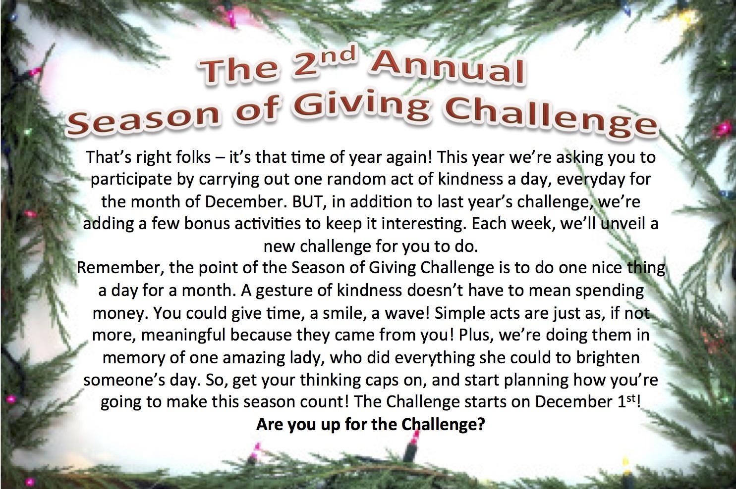 Season of Giving 2014 Poster